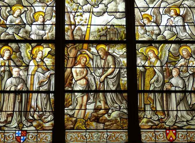 angelic architecture art baptism